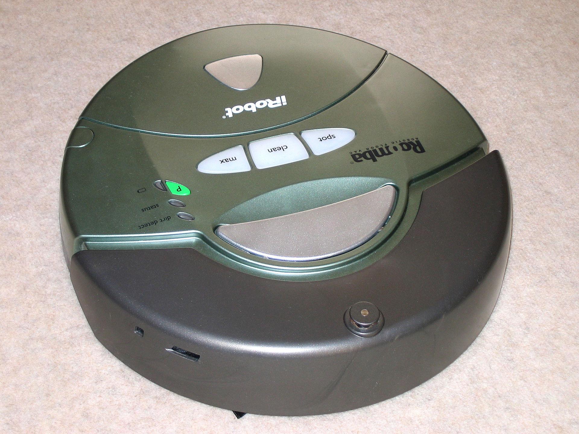 ロボット工学の2つの考え方:掃除ロボットのルンバにびっくり!
